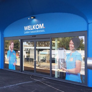 Outstore signing voor Coolblue Zaventem