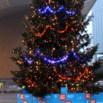 Coolblue kerstboom Blomsma RetailSigning